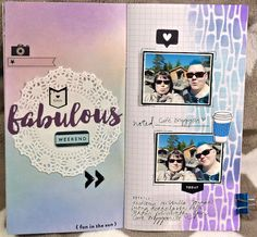 jehkotar: Fabolous weekend - TN skräppäys Layouts, Notebook, Youtube, Fun, The Notebook, Youtubers, Youtube Movies, Exercise Book, Hilarious