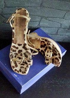 Kaufe meinen Artikel bei #Kleiderkreisel http://www.kleiderkreisel.de/damenschuhe/wedges/112986098-wedges-gr40-keilabsatz-leopardenmuster