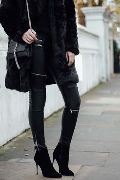 Honeymoon Revealed & All Black Outfit Post For Winter - EJ|Style