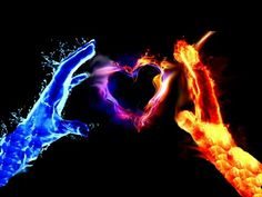 Water and fire join together