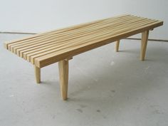 Modern Benches by Bookhou Cottage Exterior, Modern Bench, Art Design, Outdoor Furniture, Outdoor Decor, Decoration, Dining Bench, New Homes, Design Inspiration