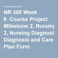 nr 501 week 2 assignment importance Devry nr 501 all assignments – new 2016 this assignment focuses on the importance of nursing theory devry nr 501 week 2 importance of theory guidelines.
