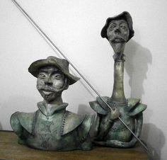 Don Quixote & Sancho Pança