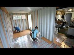 Container House - Shipping Container Homes. How to DIY own home. Add floor heat with tubes. - Who Else Wants Simple Step-By-Step Plans To Design And Build A Container Home From Scratch? Container Home Designs, Storage Container Homes, Cargo Container, 40ft Container, Container Pool, Container Cabin, Container Store, Storage Containers, Building A Container Home