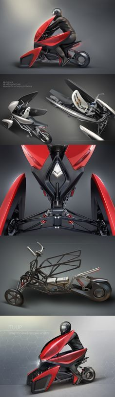 Tulip isn't just another fancy ultra-modern bike (trike?) concept churned out…