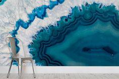 Agate Mineral Texture Wallpaper Mural