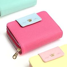 With Alice' Series Zip Wallet