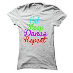 eat sleep dance repeat T-Shirts, Hoodies. VIEW DETAIL ==► Funny Tee Shirts