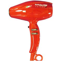 Babyliss PRO Volare V2 Mid-Size Hair Dryer ($176) ❤ liked on Polyvore featuring beauty products, haircare, hair styling tools, blow dryers & irons, red, babyliss blow dryer, red blow dryer, babyliss, hair blow dryer and blow dryer