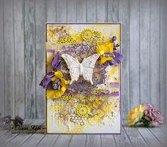 pracownia wycinanki: Olga dekoruje nasze wycinanki / Olga decorates our chipboards