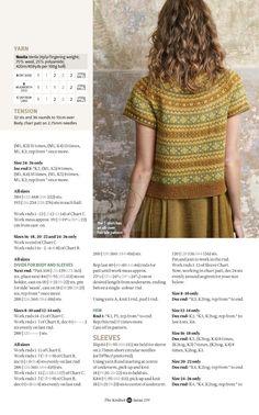 "Magazine ""The Knitter"" 2019 (uden annoncer). Fair Isle Knitting Patterns, Fair Isle Pattern, Knit Patterns, Knitting Ideas, Crochet Cardigan, Knit Crochet, Norwegian Knitting, Knitting Magazine, Pulls"