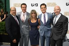 Stars of USA Network's Show White Collar Wearing Got Your 6 Pins