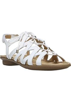 Shop for wide width Womens Naturalizer Whimsy Gladiator Sandal and more Plus Size Sandals from fullbeauty Your Online Fashion Mall for Sizes to