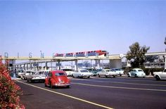 The entrance to Disneyland in 1967.  This is from a postcard that belongs to Ron Featherstone (You know you're from Rialto if.... Facebook Page).