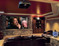 Stacked Stone Man Cave...