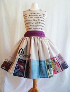 Eenmaal Upon A Time boek jurk speciale gelegenheid door RoobyLane