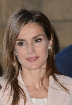 Crown Princess Letizia of Spain visits Stanford University on 14.11.13 in Palo Alto, California.