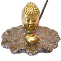 Räucherstäbchenhalter Buddha - Neuheiten - Cleopatra's Duft-Oase