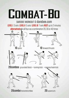 Combat-Bo Workout   Posted By: CustomWeightLossProgram.com