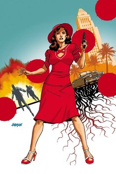 Marvel's Agent Carter Season 2 #1 by Dave Johnson *