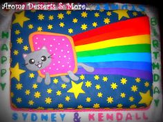 Aroma Desserts and More...: Nyan Cat Cake