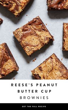 Rule of thumb: Any time you have the option to combine chocolate and peanut butter, you do it. These chewy REESE'S Peanut Butter Cup brownies are the best of both worlds — via @PureWow