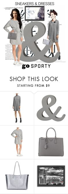 """Dolls;sporty, sneakers and dresses."" by aura-helena ❤ liked on Polyvore featuring Whistles, Aqua, Prada, Alexander McQueen and Americanflat"