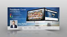 Web-Marketing-Digital-Studio-Facebook-Cover-Template Facebook Cover Photo Template, Facebook Cover Design, Facebook Marketing, Digital Marketing, Photoshop Web, Logo Design, Graphic Design, Free Facebook, Design Tutorials