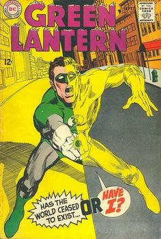 Covered: Green Lantern 63  Original cover by Neal Adams; 1968 DC.