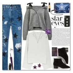"""""""star 3"""" by ozlem-ozcanb ❤ liked on Polyvore featuring History Repeats, STELLA McCARTNEY, Talbots, Elizabeth and James, Balmain, Betsey Johnson and StarOutfits"""