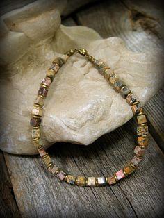 Gemstone Bracelet Bracelet for Men Boho Womens by StoneWearDesigns