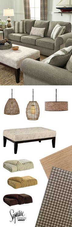 Baveria Sofa - Living Room Furniture - Casual - Vintage Style - Ashley Furniture