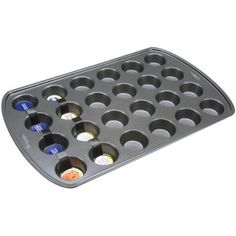 Wilton 2105-6819 Perfect Results Nonstick 24-Cup Mini Muffin Pan
