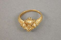 Ring, Central Javanese period, Second half of the 8th–second half of the 10th century, Indonesia (Java), Gold