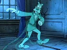 Mickey's Christmas Carol. To this day when I think of Marley's ghost, I think of Goofy.