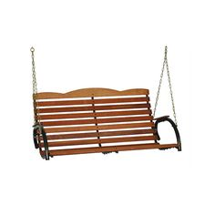 Rustic Patio Swing Durable 4 Feet Outdoor Porch Garden Swing Chair Furniture Set for sale online Garden Swing Seat, Patio Swing, Porch Garden, Porch Swings For Sale, Sectional Sofa With Recliner, Recliners, Rustic Patio, Outdoor Umbrella, Outdoor Dining Set
