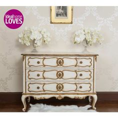 Palais Chest of Drawers - French Bedroom Storage Chest Bedroom Drawers, Bedroom Storage, Bedroom Furniture, Bedroom Chest, Shabby Chic Stil, French Furniture, Painted Furniture, Refurbished Furniture, Antique Furniture