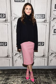 Actress Keri Russell attends the Build Series to discuss the show 'The Americans' at Build Studio on March 8, 2017 in New York City. (Photo by Daniel Zuchnik/WireImage)