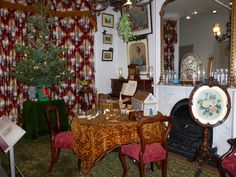 """The annual """"Christmas Past"""" exhibition at the Geffrye Museum"""