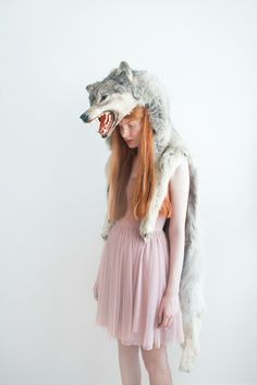 Girl with Wolf II