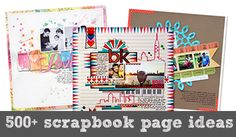 500+ Free Scrapbook Page Ideas at Get It Scrapped