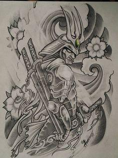 Design Tattoo Art Drawings Ideas For 2019 Japanese Tattoo Symbols, Japanese Tattoo Art, Japanese Tattoo Designs, Japanese Tattoo Sleeve Samurai, Japanese Drawings, Japanese Art, Kunst Tattoos, Bild Tattoos, Neue Tattoos