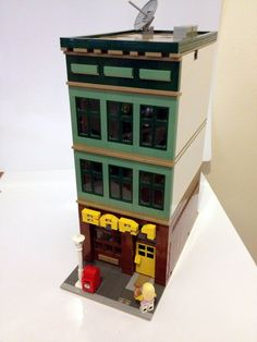 Modular Lego Bar