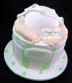 Baby Shower Cake by Denise