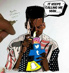 Ween yourself off social before its too late... #CIA #NSA #bigbrother #trump #blackart #blacklivesmatter #supportsmallbusiness