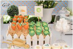 Cabbage + Carrot Cake Pops from a Peter Rabbit Birthday Party via Kara's Party Ideas | KarasPartyIdeas.com (7)