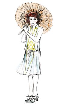 """Sublime el vestuario de la pelicula """" Magia a la luz de la luna"""", diseñado por Sonia Grande. Inspirado en los años 20, prendas delicadas, tonos empolvados, encajes, pailettes....una maravilla."""