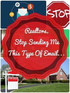 Realtors, stop sending me this type of email... Do your emails get deleted without mercy? Check out these real estate email marketing tips! #realestate #marketing #email