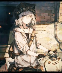 Cute and stylish at the same time *-* but more cute in the end 🤔 amor boy dark manga mujer fondos de pantalla hot kawaii Anime Neko, Kawaii Anime Girl, Manga Kawaii, Chica Anime Manga, Anime Girl Cute, Fanarts Anime, Beautiful Anime Girl, Anime Art Girl, Otaku Anime