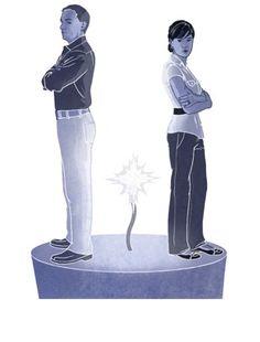 Cómo dejar de discutir con el cónyuge   Ayuda para las familias